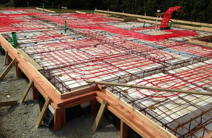 With A MAXRaft Slab This Would Not Occur Saving Up To 40% In Running Costs.